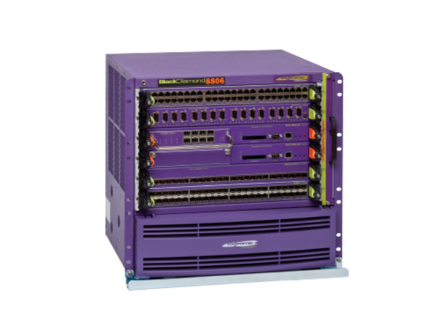 Шасси BlackDiamond 8800 Extreme Networks